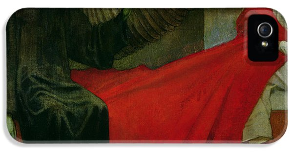 Grim Reaper iPhone 5 Cases - The Young Girl and Death iPhone 5 Case by Marianne Stokes