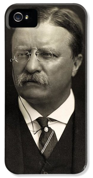 Suit iPhone 5 Cases - Theodore Roosevelt iPhone 5 Case by Unknown