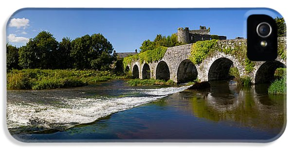 Social History iPhone 5 Cases - Thirteen Arch Bridge Over The River iPhone 5 Case by Panoramic Images