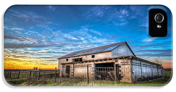 Farmland iPhone 5 Cases - This Old Barn iPhone 5 Case by Marvin Spates