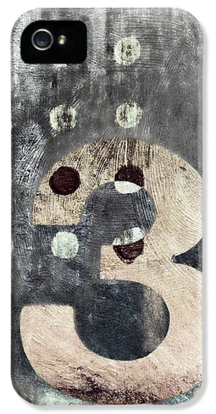 Three iPhone 5 Cases - Three Painting iPhone 5 Case by Carol Leigh