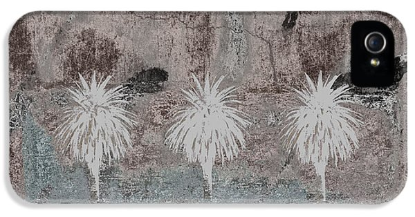 Deserted iPhone 5 Cases - Three Palms Oasis iPhone 5 Case by Carol Leigh