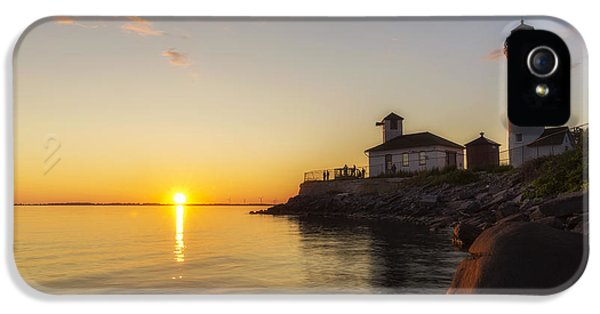 Foghorn iPhone 5 Cases - Tibbetts Point Lighthouse iPhone 5 Case by Mark Papke
