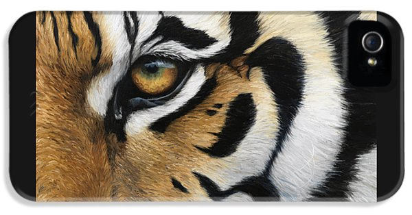Tiger Eye IPhone 5 / 5s Case by Lucie Bilodeau
