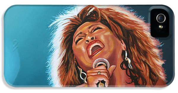 Tina Turner 3 IPhone 5 / 5s Case by Paul Meijering