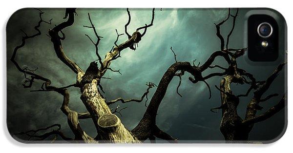 Spooky iPhone 5 Cases - Titan iPhone 5 Case by Chris Fletcher