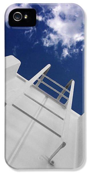Ladder iPhone 5 Cases - To The Top iPhone 5 Case by Don Spenner