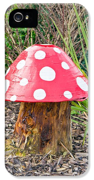 Poisonous iPhone 5 Cases - Toadstool iPhone 5 Case by Tom Gowanlock
