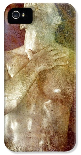 Erotic Male iPhone 5 Cases - Mystery Prayer iPhone 5 Case by Mark Ashkenazi