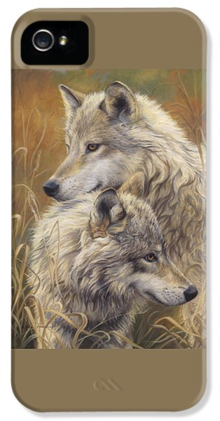 Gray iPhone 5 Cases - Together iPhone 5 Case by Lucie Bilodeau
