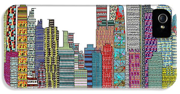 Tokyo City  IPhone 5 / 5s Case by Bri B