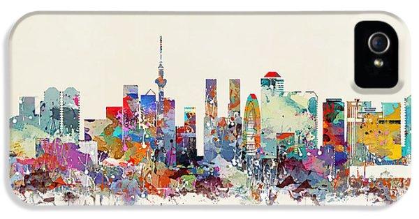 Tokyo Skyine IPhone 5 / 5s Case by Bri B