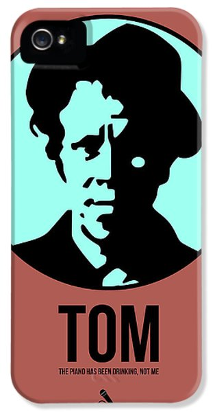 Wait iPhone 5 Cases - Tom Poster 2 iPhone 5 Case by Naxart Studio