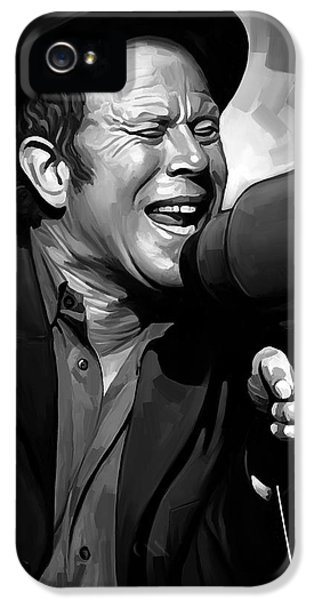 Wait iPhone 5 Cases - Tom Waits Artwork  3 iPhone 5 Case by Sheraz A