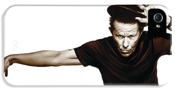 Wait iPhone 5 Cases - Tom Waits Artwork  4 iPhone 5 Case by Sheraz A