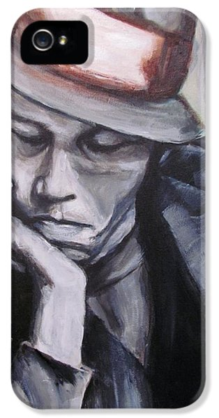 Wait iPhone 5 Cases - Tom Waits one iPhone 5 Case by Eric Dee