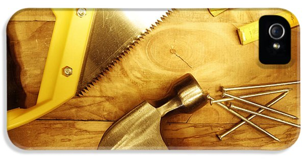 Work Tool iPhone 5 Cases - Tools iPhone 5 Case by Les Cunliffe