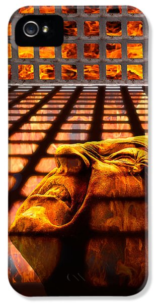 Tormented Soul IPhone 5 / 5s Case by Tom Mc Nemar