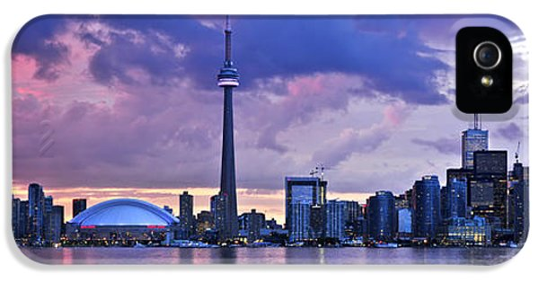 City iPhone 5 Cases - Toronto skyline iPhone 5 Case by Elena Elisseeva