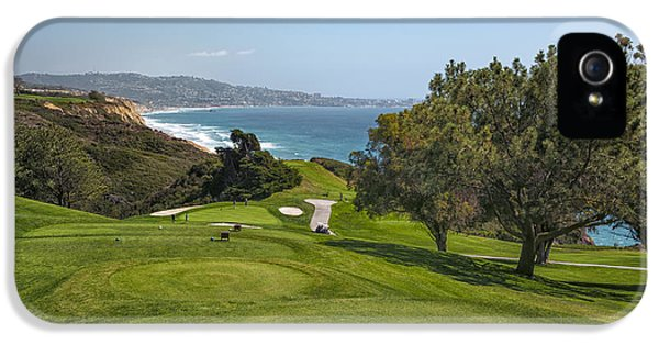 Balls iPhone 5 Cases - Torrey Pines Golf Course North 6th Hole iPhone 5 Case by Adam Romanowicz