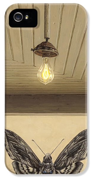 Light Bulb iPhone 5 Cases - Toward the Light iPhone 5 Case by Ron Crabb