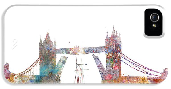 Tower Bridge Colorsplash IPhone 5 / 5s Case by Aimee Stewart