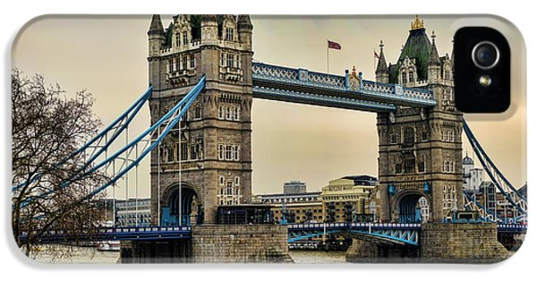 Tower Bridge On The River Thames IPhone 5 / 5s Case by Heather Applegate