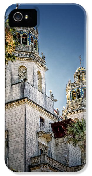 Casa Encantada iPhone 5 Cases - Towers at Hearst Castle - California iPhone 5 Case by Jon Berghoff