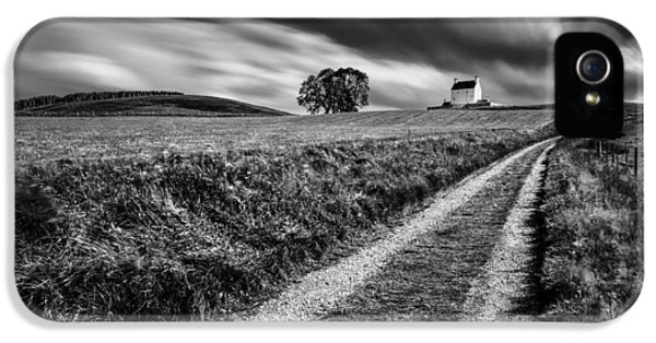 Strategic iPhone 5 Cases - Tracks to Corgarff Castle iPhone 5 Case by Dave Bowman