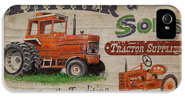Tractor Supplies IPhone 5 / 5s Case by JQ Licensing