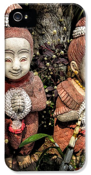 Greet iPhone 5 Cases - Traditional Thai Welcome iPhone 5 Case by Adrian Evans