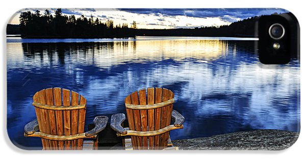 Canada iPhone 5 Cases - Tranquility iPhone 5 Case by Elena Elisseeva