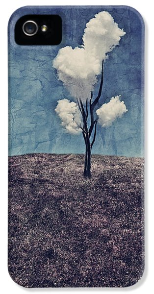 Surreal iPhone 5 Cases - Tree Clouds 01d2 iPhone 5 Case by Aimelle