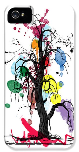 Orsillo iPhone 5 Cases - Tree iPhone 5 Case by Mark Ashkenazi