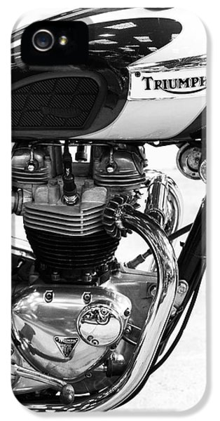 Triumph Bonneville IPhone 5 / 5s Case by Tim Gainey