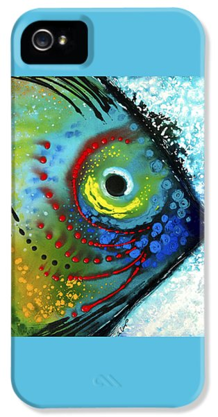 Sea iPhone 5 Cases - Tropical Fish - Art by Sharon Cummings iPhone 5 Case by Sharon Cummings
