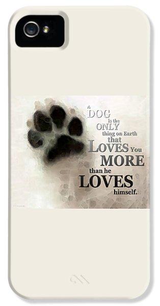 True Love - By Sharon Cummings Words By Billings IPhone 5 / 5s Case by Sharon Cummings