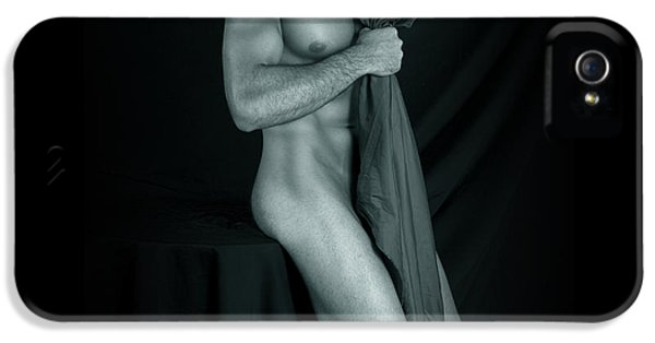 Erotic Male iPhone 5 Cases - Peace Sensation  iPhone 5 Case by Mark Ashkenazi
