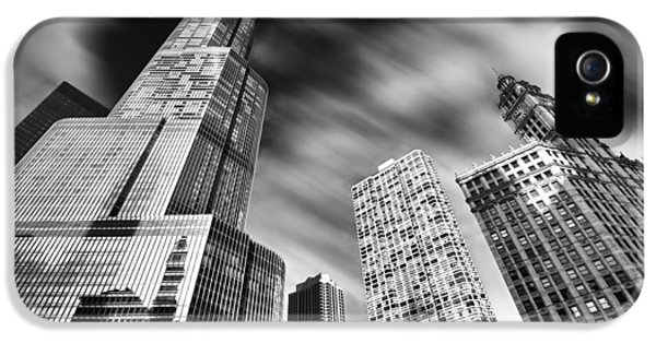 Trump Tower In Black And White IPhone 5 / 5s Case by Sebastian Musial