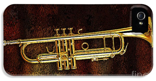Trumpet IPhone 5 / 5s Case by Marvin Blaine