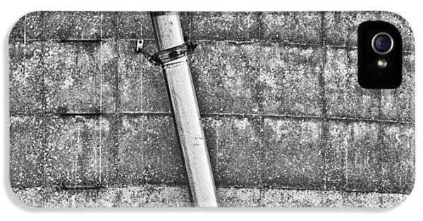 Tubular iPhone 5 Cases - Tubular Disconnect BW iPhone 5 Case by Christi Kraft