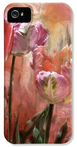 Tulips - Colors Of Love IPhone 5 / 5s Case by Carol Cavalaris