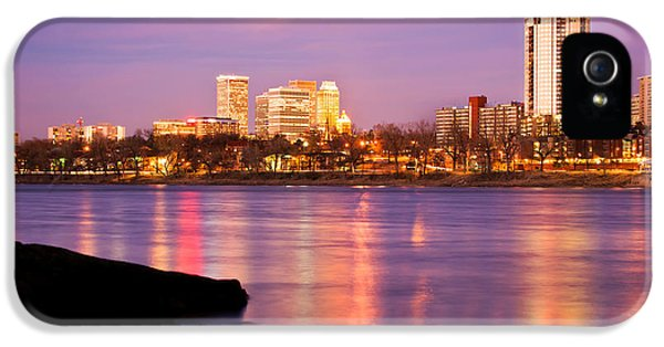Tulsa Oklahoma - University Tower View IPhone 5 / 5s Case by Gregory Ballos