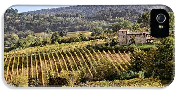 Farmland iPhone 5 Cases - Tuscan Valley iPhone 5 Case by Dave Bowman