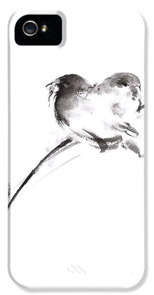 Two Birds Minimalism Artwork. IPhone 5 / 5s Case by Mariusz Szmerdt