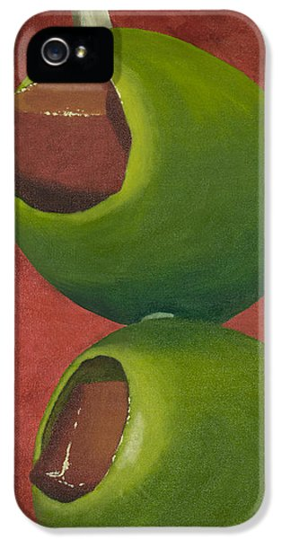 Two Olives In Search Of A Bloody Mary IPhone 5 / 5s Case by Garry McMichael