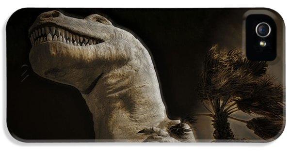 10 Bells iPhone 5 Cases - Tyrannosaurus Rex iPhone 5 Case by Cindy Nunn