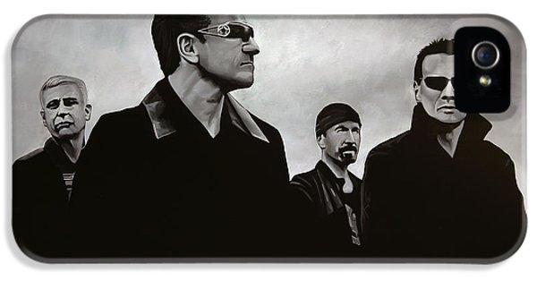 Idols iPhone 5 Cases - U2 iPhone 5 Case by Paul Meijering