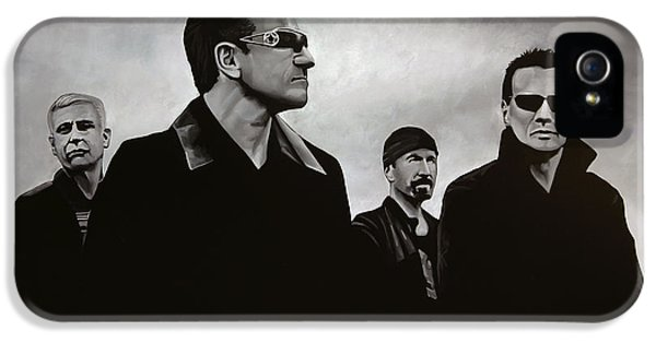 Paul Meijering iPhone 5 Cases - U2 iPhone 5 Case by Paul Meijering