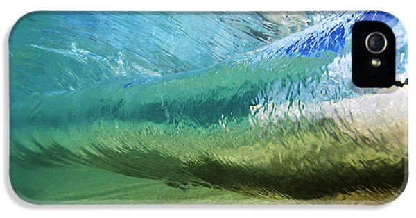 Beautiful Day iPhone 5 Cases - Underwater Wave Curl iPhone 5 Case by Vince Cavataio - Printscapes